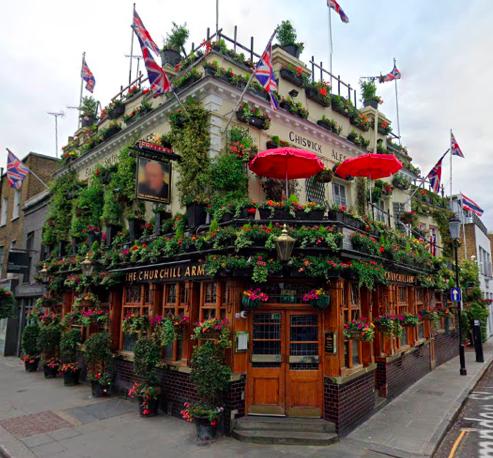 Shrubby pub