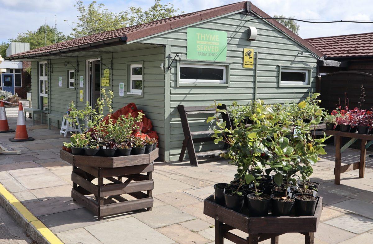 Thyme Served Hatfield prison Farm Shop